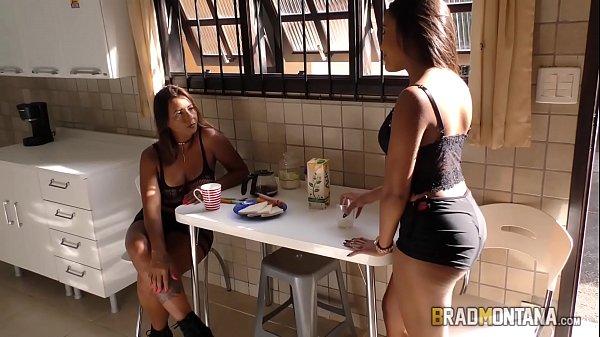 Putaria Brasileira Causos de Família  Tia vs Sobrinha Incesto